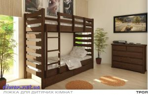 Кровать двухъярусная Троя (Мебигранд)