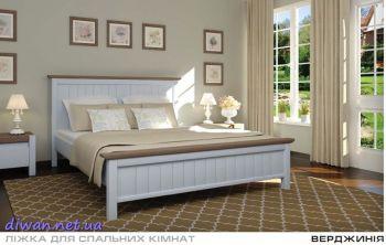 Кровать деревянная Вирджиния (Мебигранд)