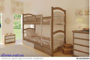 Кровать двухъярусная Жасмин (Мебигранд)